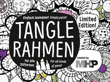 Tangle Rahmen – Art relaxes!