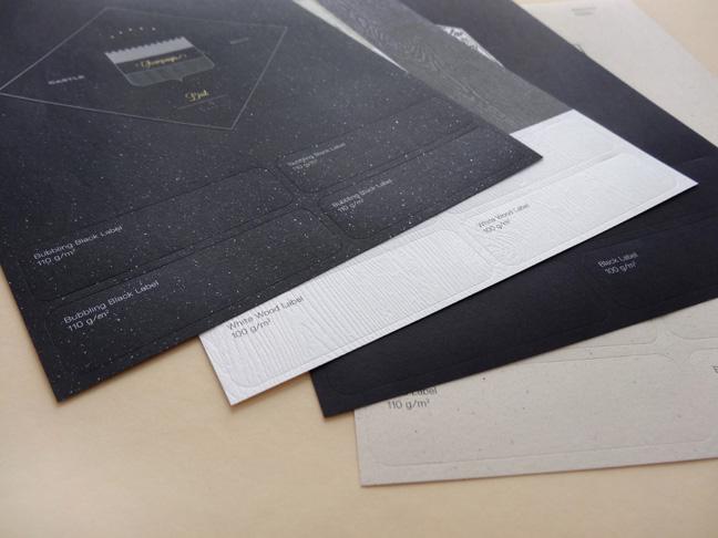 Gmund Label Hochwertige Etiketten