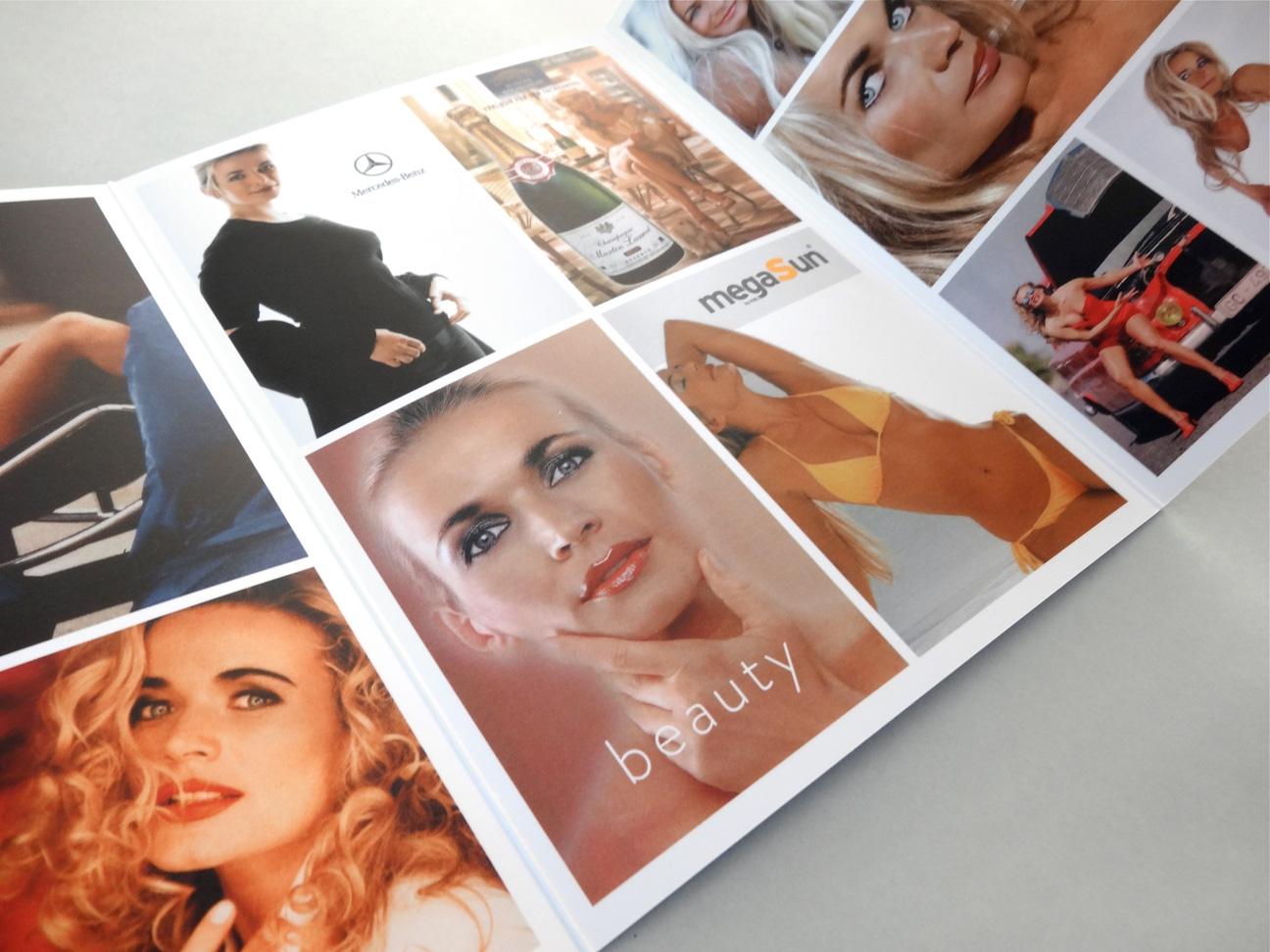 Sed card, sedcard, layout, print, design, simone bechtel