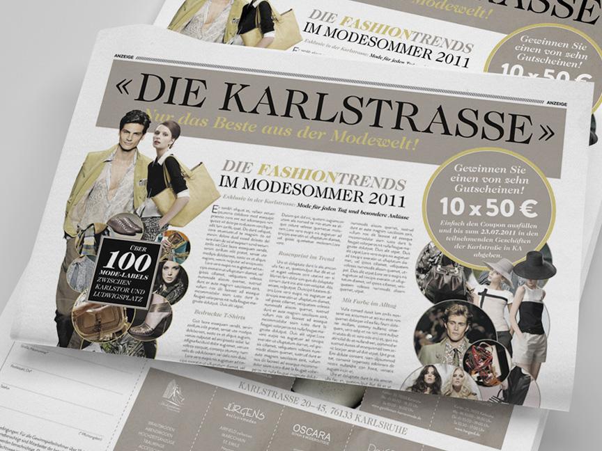 Anzeige Karlstrasse
