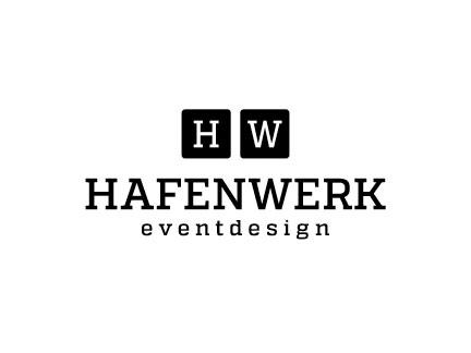 Hafenwerk Logo-Entwicklung und Gestaltung, Branche Eventdesign