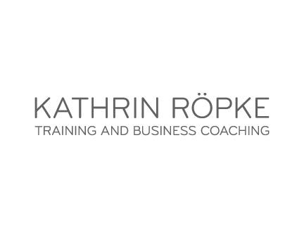 Kathrin Röpke Training Logo-Entwicklung und Gestaltung, Branche Training Consulting