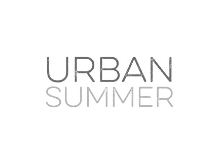 Urban Summer Logo-Entwicklung und Gestaltung, Branche Veranstaltung
