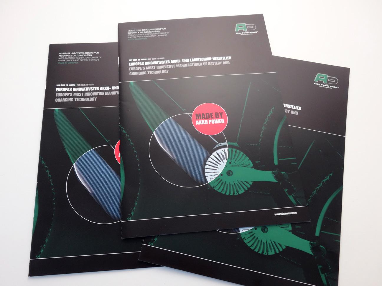 Broschüre, Corporate Design