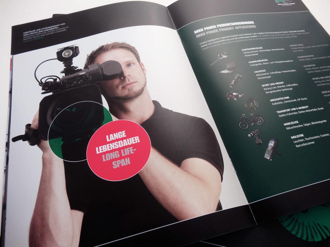 Corporate Design, Broschüre