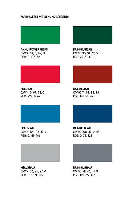 Farben, Corporate Design