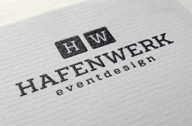 Hafenwerk Corporate Design Briefbogen