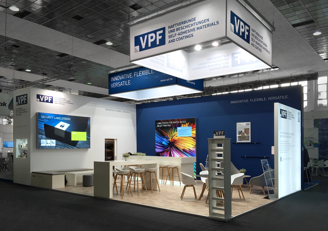 Design für VPF Messestand Labelexpo 2017
