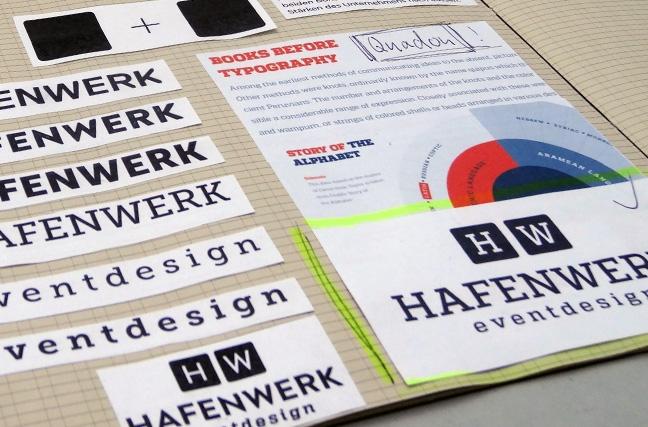 Hafenwerk Corporate Design Entstehung