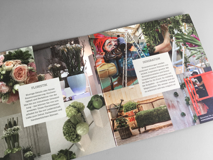 Hafenwerk eventdesign Folder Mobiliar Floristik Dekoration