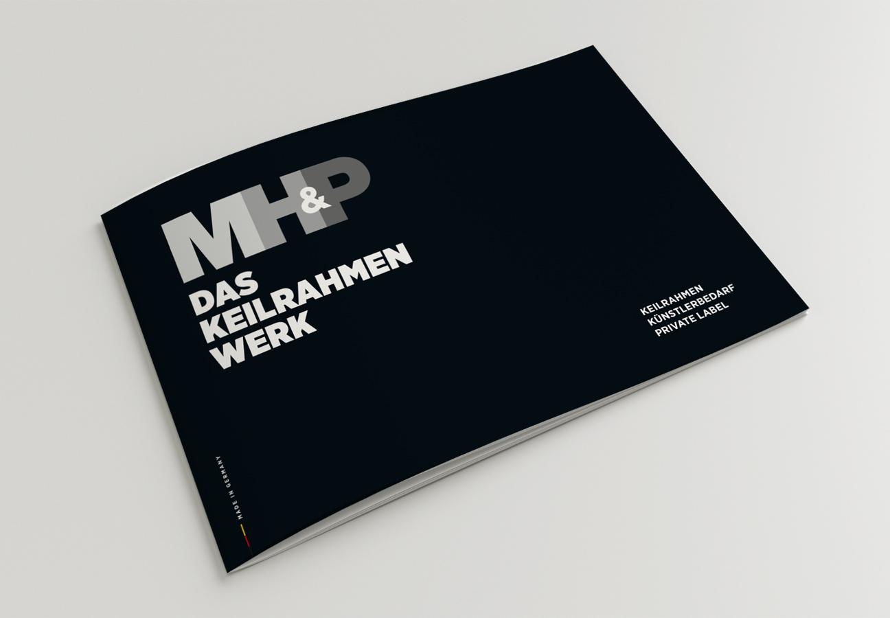 MHP Das Keilrahmen Werk Berlin – Cover des Kataloges