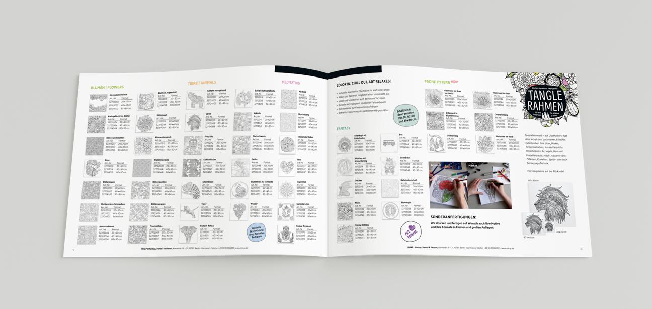 MHP Das Keilrahmen Werk Berlin – Tangle Rahmen Produkte