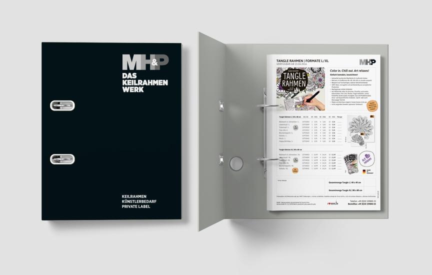 MHP Das Keilrahmen Werk Tangle Rahmen Aktion Verkaufsfoerderung