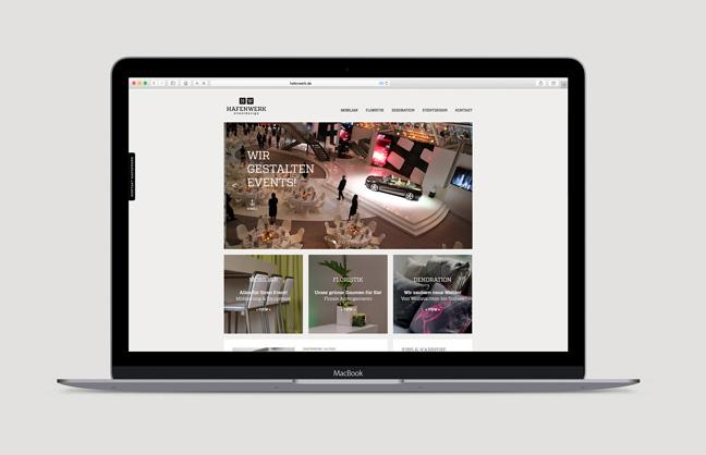 Hafenwerk Website