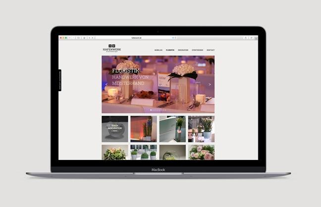 Webdesign Hafenwerk