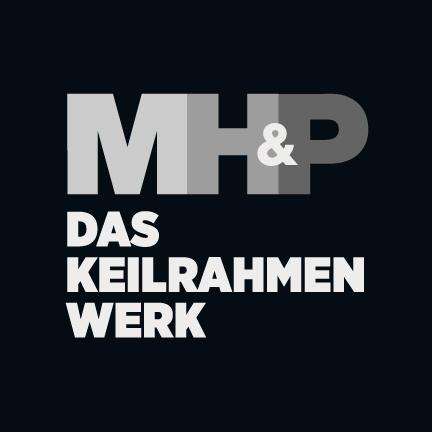 Logo MH&P Das Keilrahmen Werk