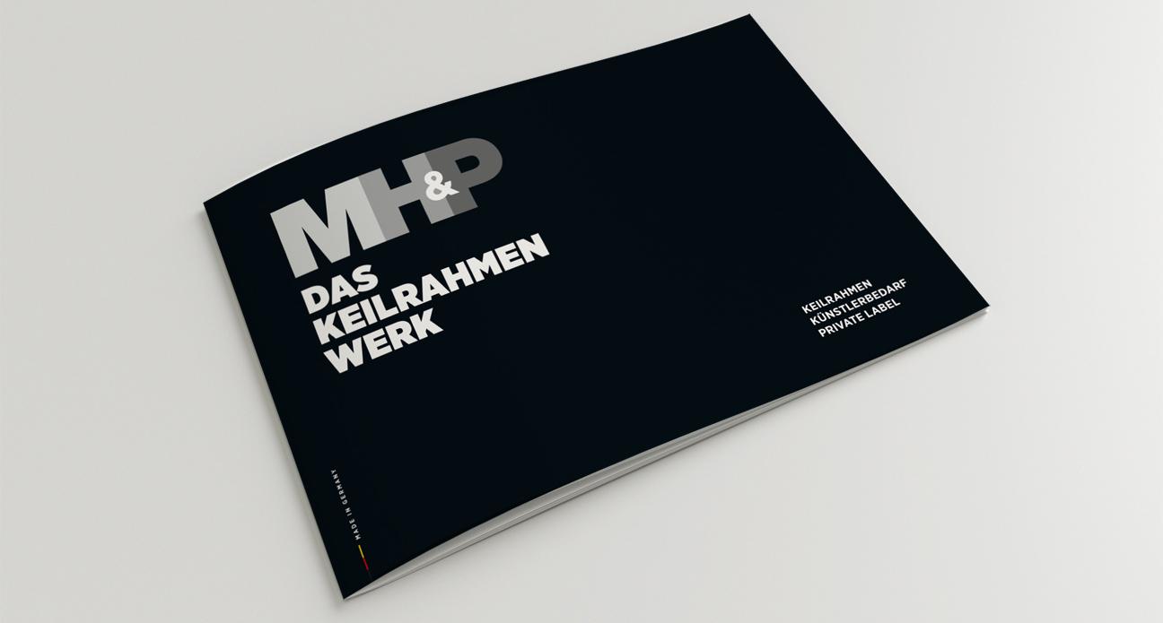 MH&P Das Keilrahmen Werk Katalog Cover