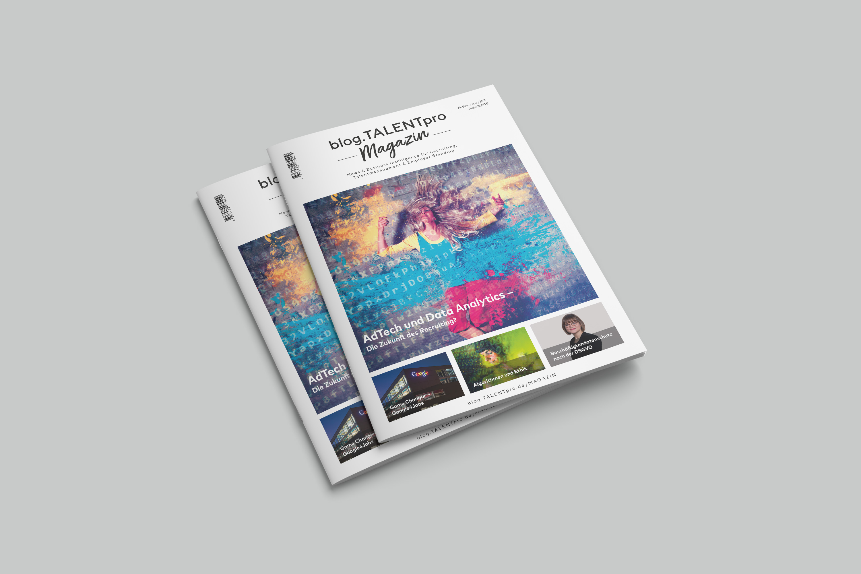 blogTALENTpro-Magazin Stapel