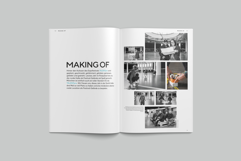 blogTALENTpro-Magazin Making Of
