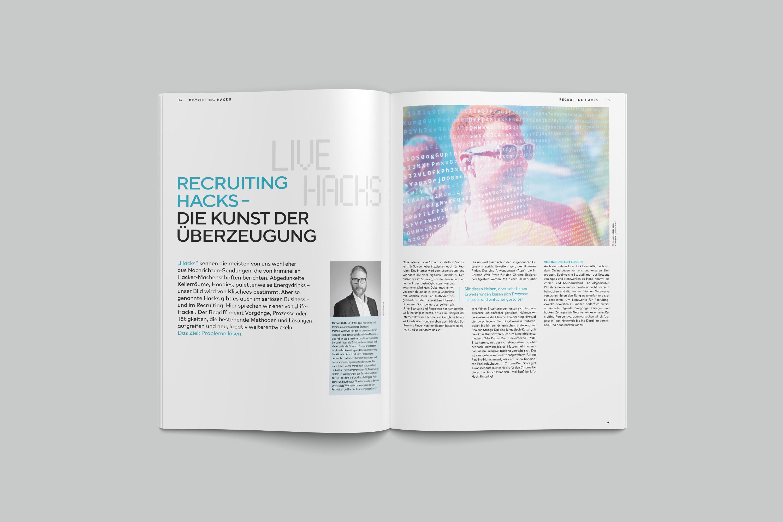 blogTALENTpro-Magazin Recruiting Hacks